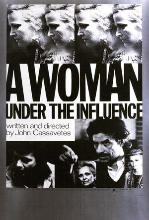 Póster de Una mujer bajo la influencia