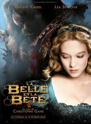 Póster de La bella y la bestia