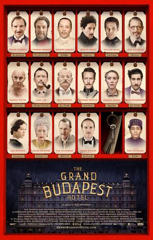 Póster de El gran hotel Budapest