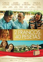 Póster de 2 francos, 40 pesetas
