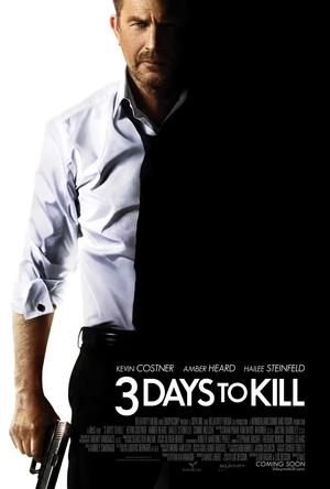 Póster de 3 días para matar