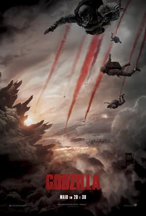 Póster de Godzilla