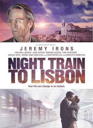 Póster de Tren de noche a Lisboa