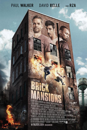 Póster de Brick Mansions