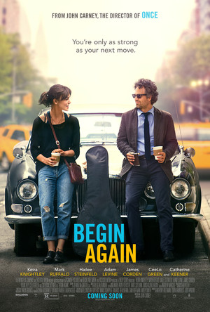 Póster de Begin Again