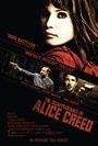 Cartel de La desaparición de Alice Creed