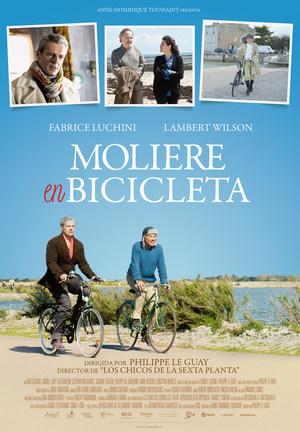 Póster de Moliére en bicicleta