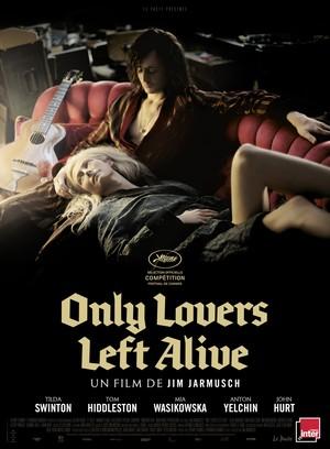 Póster de Sólo los amantes sobreviven