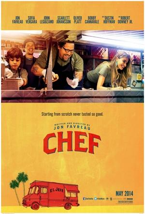 Póster de Chef