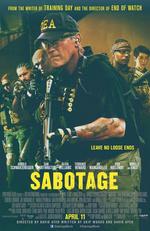 Póster de Sabotage