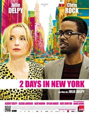 Póster de Dos días en Nueva York