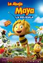 Cartel de La abeja Maya. La película