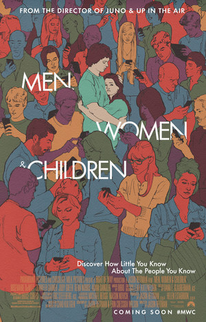 Póster de Hombres, mujeres y niños
