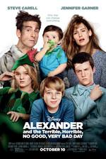Póster de Alexander y el día terrible, horrible, espantoso, horroroso