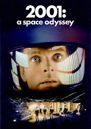 Póster de 2001: Una odisea del espacio