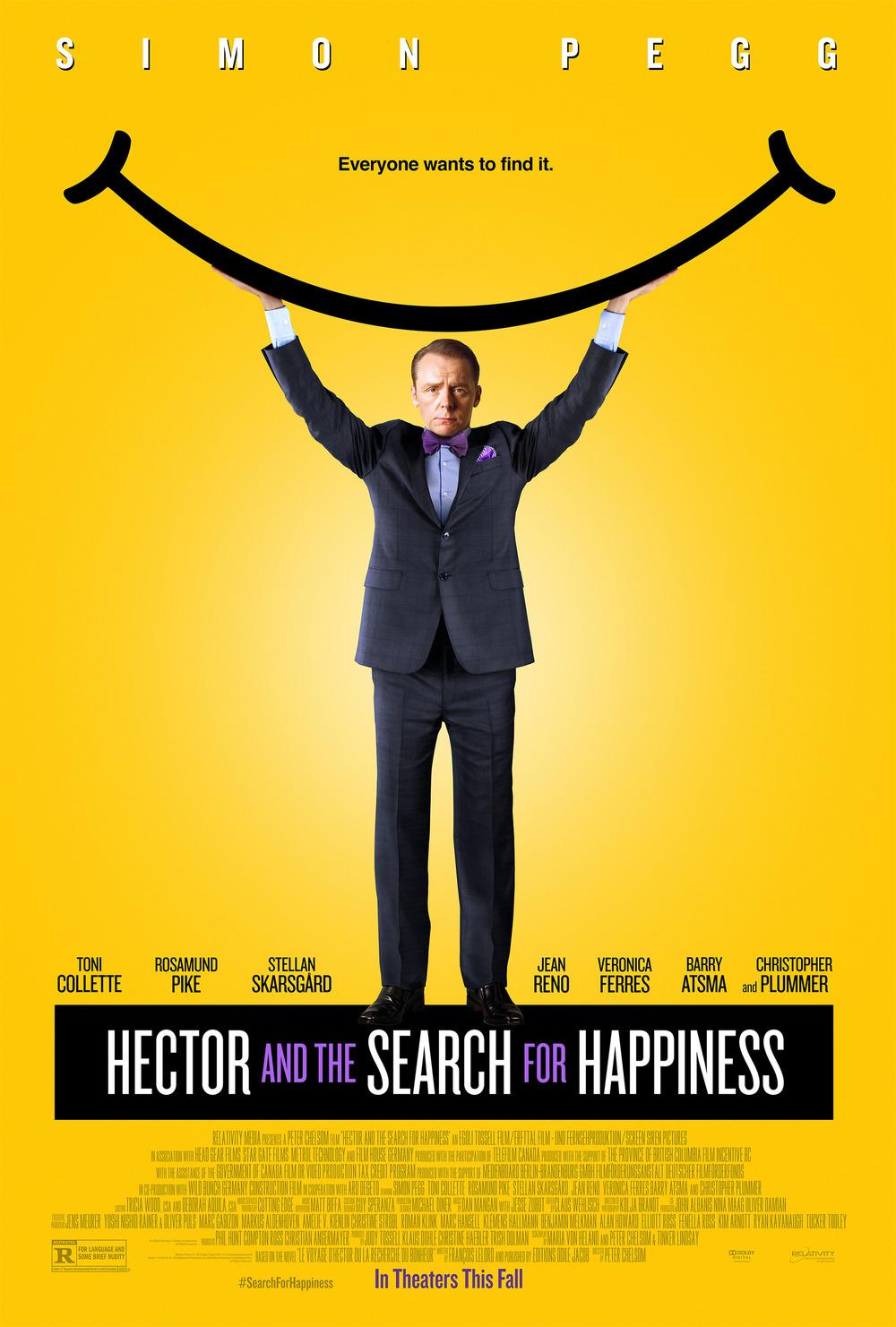 Póster de Hector y el secreto de la felicidad