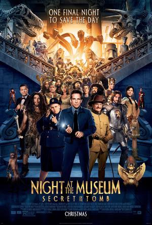 Póster de Noche en el museo 3: El secreto del faraón