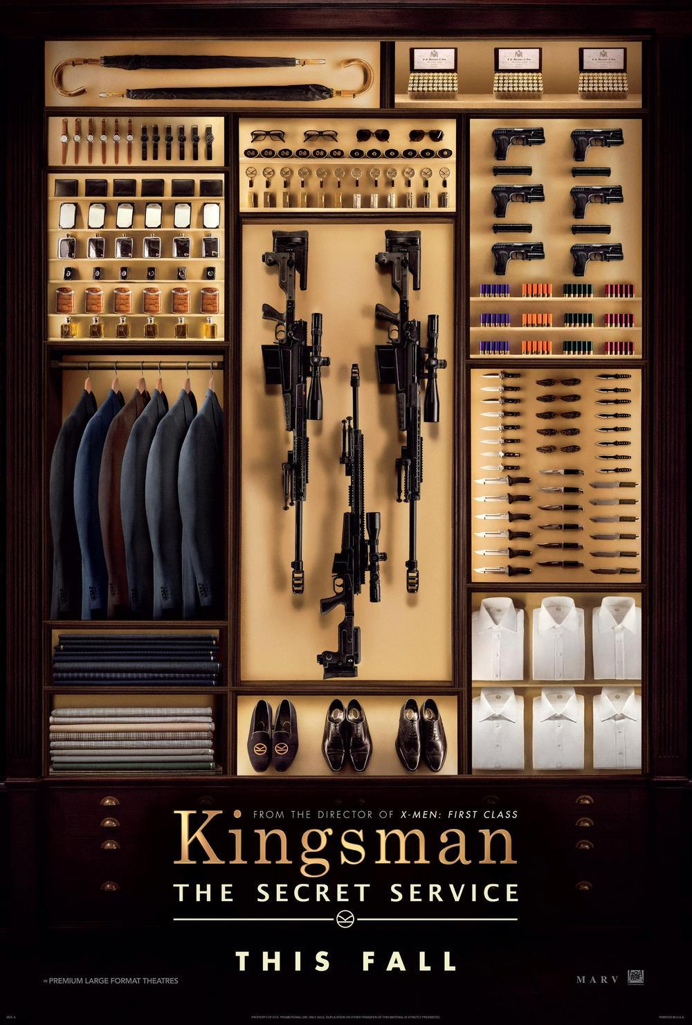 Póster de Kingsman: Servicio secreto