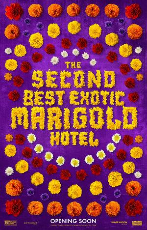 Póster de El nuevo exótico hotel Marigold