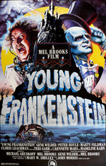 Póster de El jovencito Frankenstein