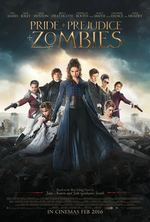 Póster de Orgullo + Prejuicio + Zombies