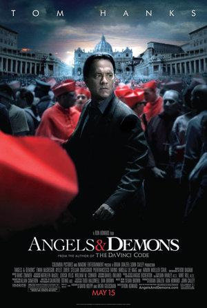 Póster de Ángeles y demonios