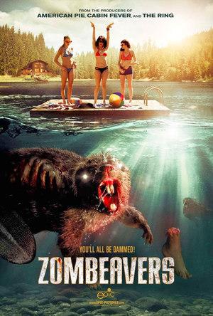 Póster de Zombeavers (Castores zombies)