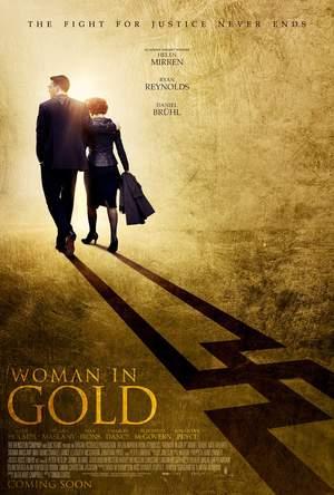 Póster de La dama de oro