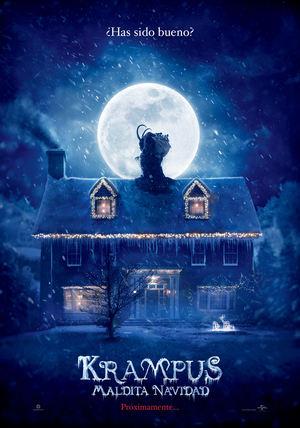 Póster de Krampus - Maldita Navidad