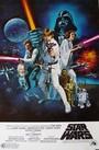 Cartel de La guerra de las galaxias. Episodio IV: Una nueva esperanza