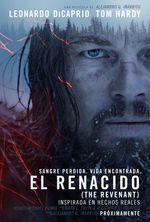 Póster de El renacido (The Revenant)