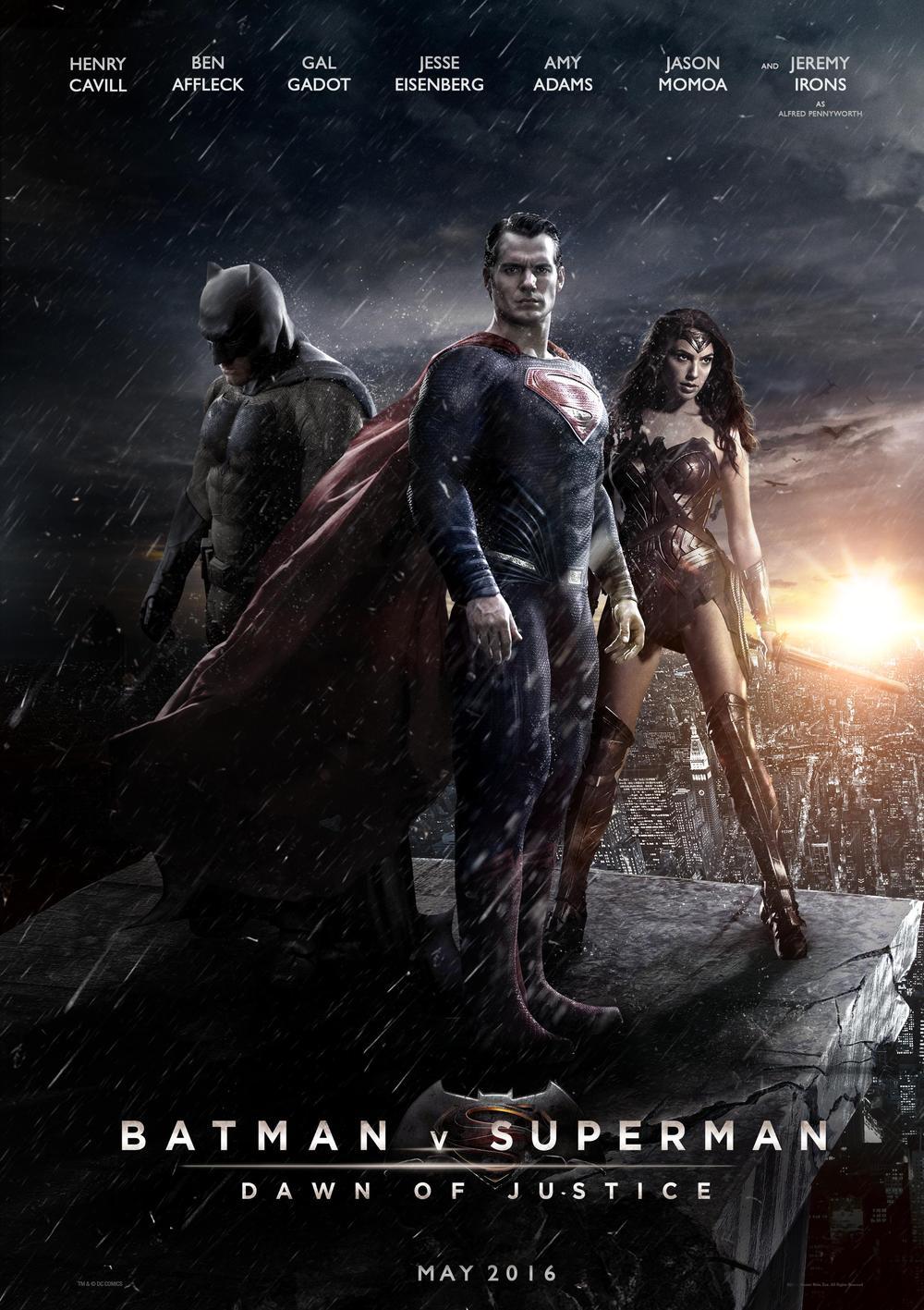 Póster de Batman v. Superman: El amanecer de la Justicia