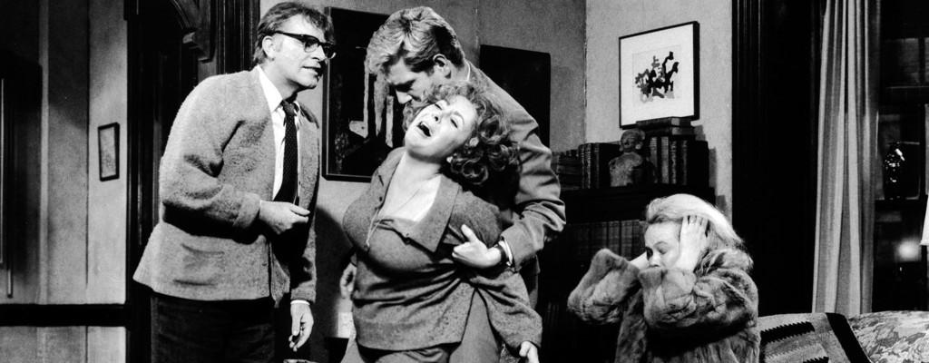 Escena de ¿Quién teme a Virginia Woolf?