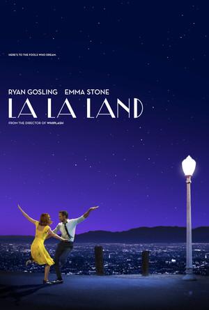 Póster de La ciudad de las estrellas (La La Land)