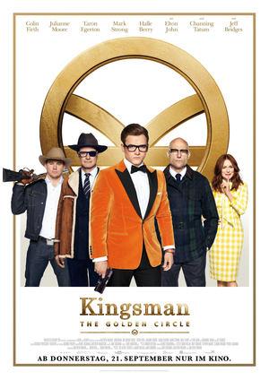 Póster de Kingsman: El círculo de oro