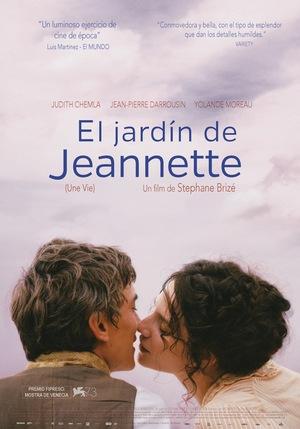 Póster de El jardín de Jeannette