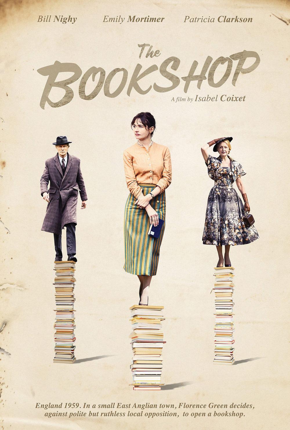 Póster de La librería