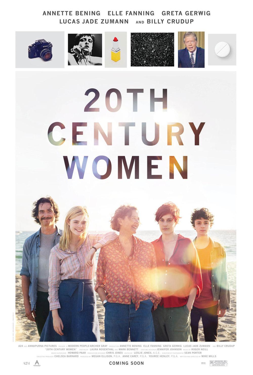 Póster de Mujeres del siglo XX